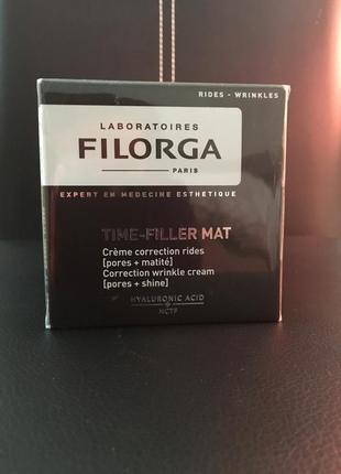 Крем  с эффектом ботокса filorga time filler mat