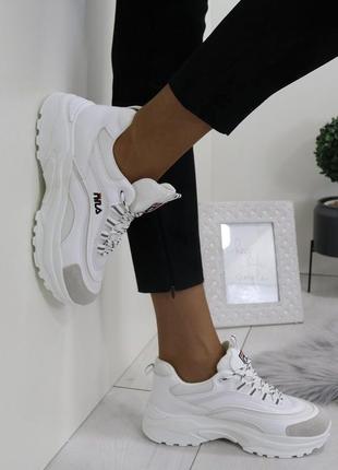 Новые белые кроссовки размер 36-41