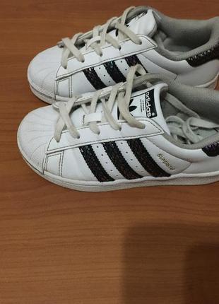 Детские кроссовки adidas superstar