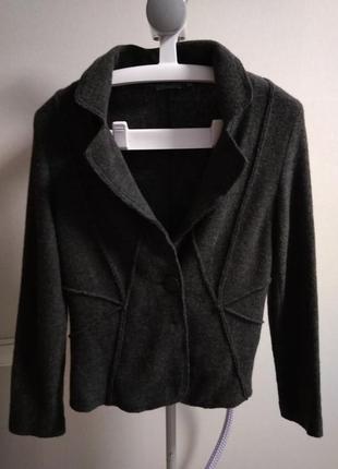 Стильный шерстяной пиджак maddison