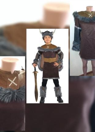 Карнавальный костюм викинга на 12-14 лет