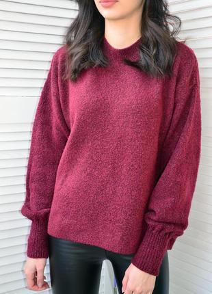 Крутой оверсайз свитер stradivarius