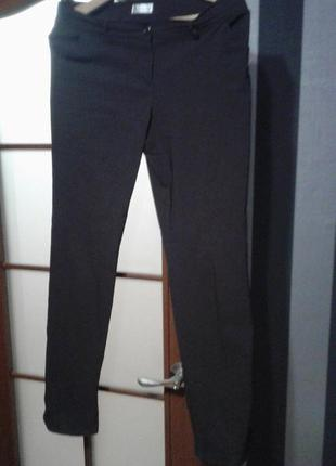 Темно-шоколадные брюки biaggini.