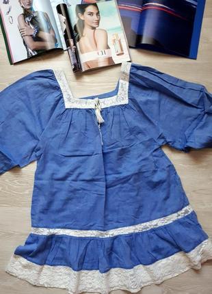 Хлопковая блуза h&m / 2я вещь в подарок