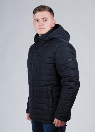 Мужская зимняя куртка на синтепоне