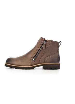 Зимние кожаные ботинки ecco jamestown