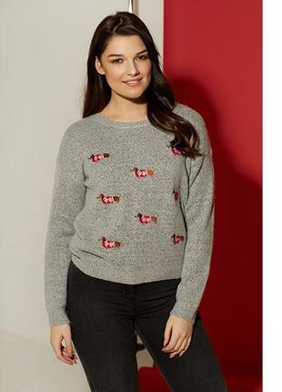 Новогодний свитер primark