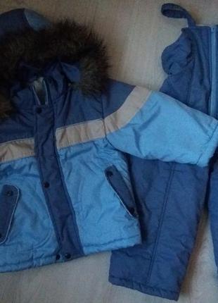 Зимний комбинезон курточка