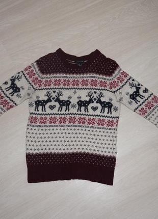 Тепленький свитер. шерсть