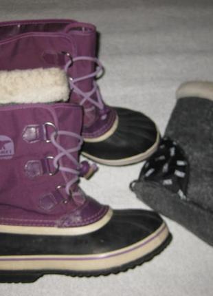 25 см стелька, канадские термо сапоги sorel waterproof сноубутсы зимние