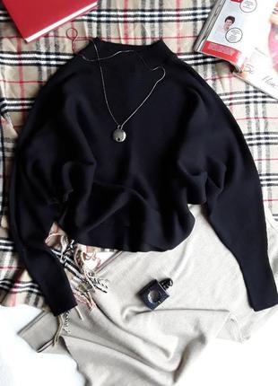 Стильный свитер летучие мышь от zara