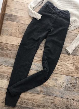 Тёплые базовые штаны шерсть esmara