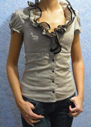 Рубашка блузка tally weijl 158-164р.