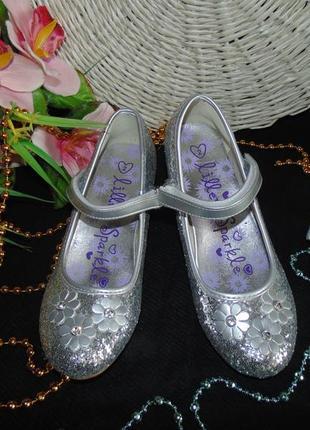 Бомбезные туфельки lilley sparkle33(2)р,ст 21,5см.мега выбор обуви и одежды!