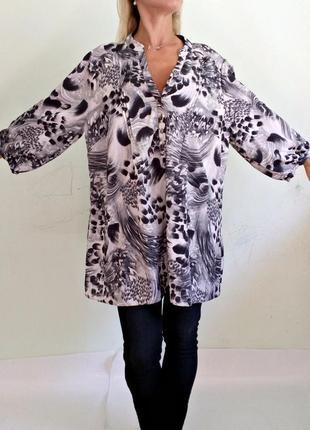 Легкая блуза свободного кроя 22
