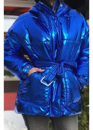 Крутая модная пуховик куртка 1075-1.разные размеры и цвета.s, m ,l