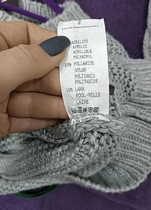 Стильный укороченый свитер косичка в наличии скидка2