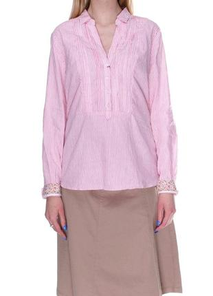 Качественная рубашка, блуза massimo dutti. 72% лён