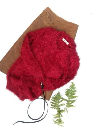 Стильний теплий светр травка