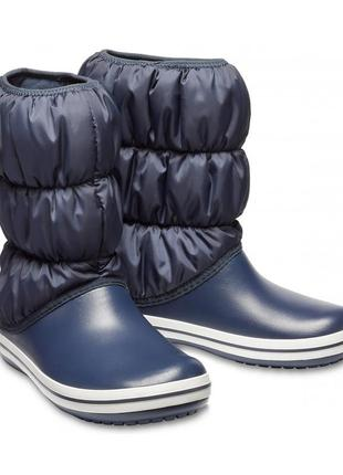Зимние сапоги crocs winter puff boot, w5, w7, w8, w9