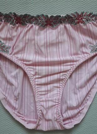 Красивенные трусики большого размера с вышивкой eleganzia by miriale