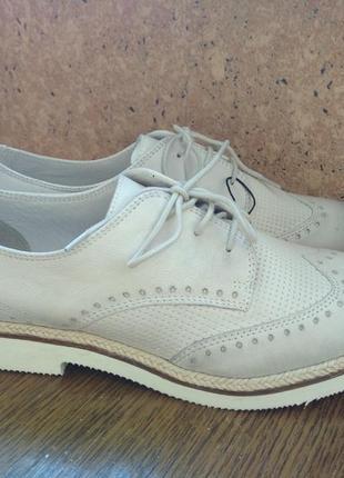 Туфли броги оксфорды pier one разм.39 стелька 25,8 см