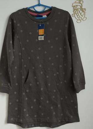 Трикотажное платье на девочку 110-116 см германия