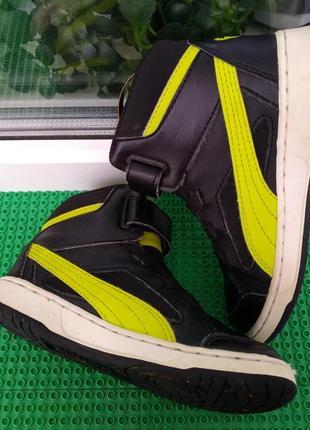 Высокие кроссовки скейтера puma  р. 30 , стелька 18.7 см