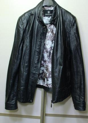 Курточка кожаная orococo zara