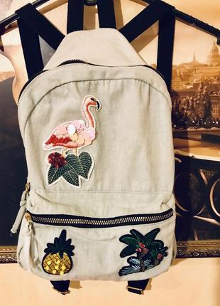Трендовый рюкзак с аппликацией от primark