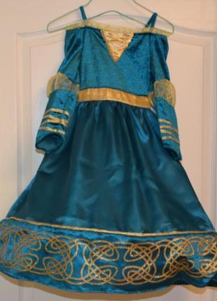 Карнавальный костюм disney на 3-4 года: мерида