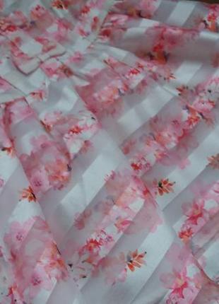 Романтичное платье сарафан tu на 9-12 мес2 фото