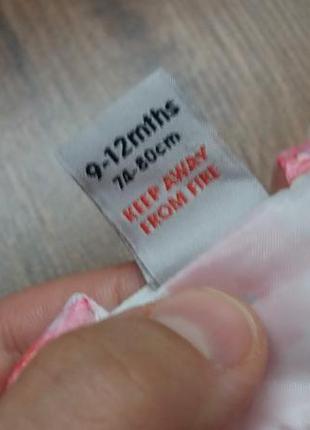 Романтичное платье сарафан tu на 9-12 мес5 фото