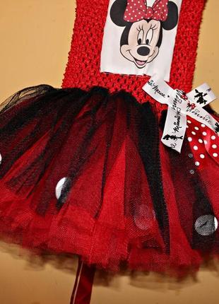 Платье минни маус 2-4 года1