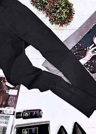 Элегантные темно-серые классические брюки c&a.