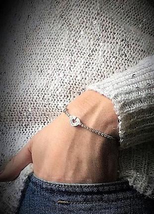 Брендовая ювелирная бижутерия xuping jewelry на каждый день! новый браслет с фианитами