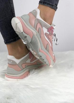 Розовые женские кроссовки ash addict разные размеры в наличии