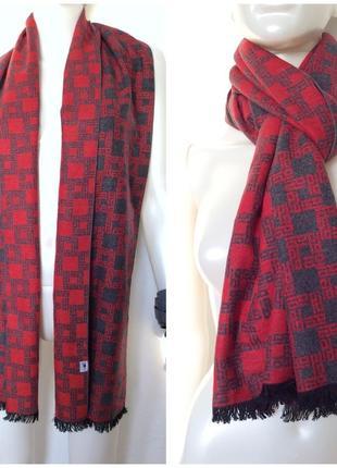 Японский шелковый тёплый шарф