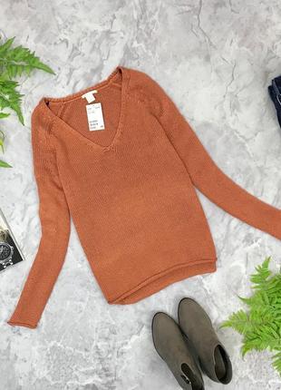 Аккуратный свитер с v-образным вырезом  sh1849105 h&m