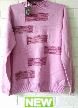 Новый свитер из шерсти