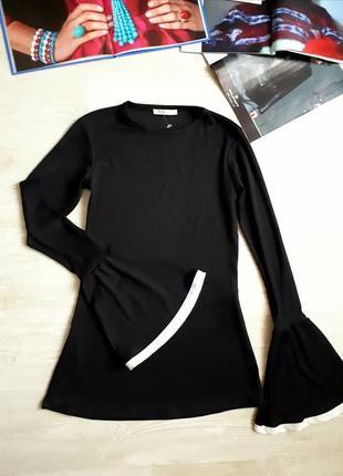 Стильная блуза zara /2я вещь в подарок1