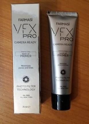 -40% прозрачная праймер основа под макияж vfx pro camera ready фармаси