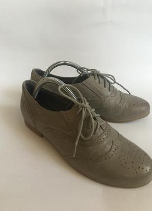 Фирменные кожаные туфли buffalo london оригинал