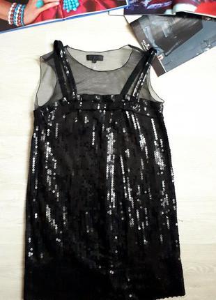 Платье в пайетках / вечернее платье /2я вещь в подарок