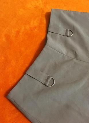 Стильные шорты шикарного темно-бежевого оттенка3 фото