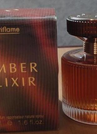 Парфюмерная вода amber elixir орифлейм 50мл