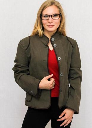 Куртка зеленая женская mexx (l)