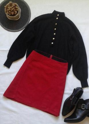 Шерстяная юбка up fashion
