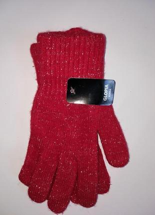 Новые шерстяные перчатки отличного качества корея(не китай)