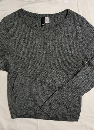 Невероятный свитерок в рубчик от h&m